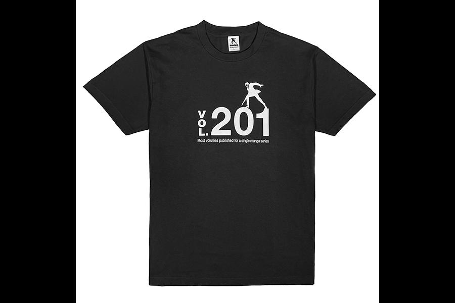 「ゴルゴ13」201巻 世界記録到達記念Tシャツを数量限定で販売